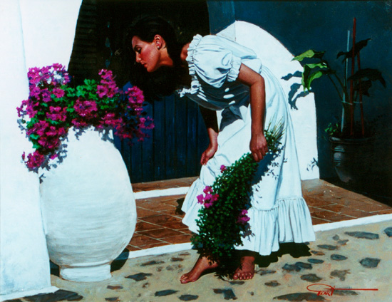 Image of Gabriel Picart's 'Flowers Collector'