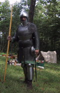 Gilbert in Armor