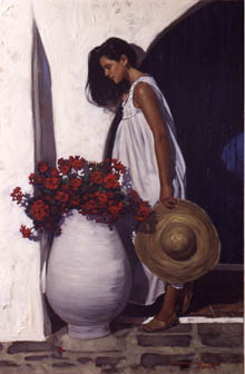 Image of Gabriel Picart's 'Red Blossoms'