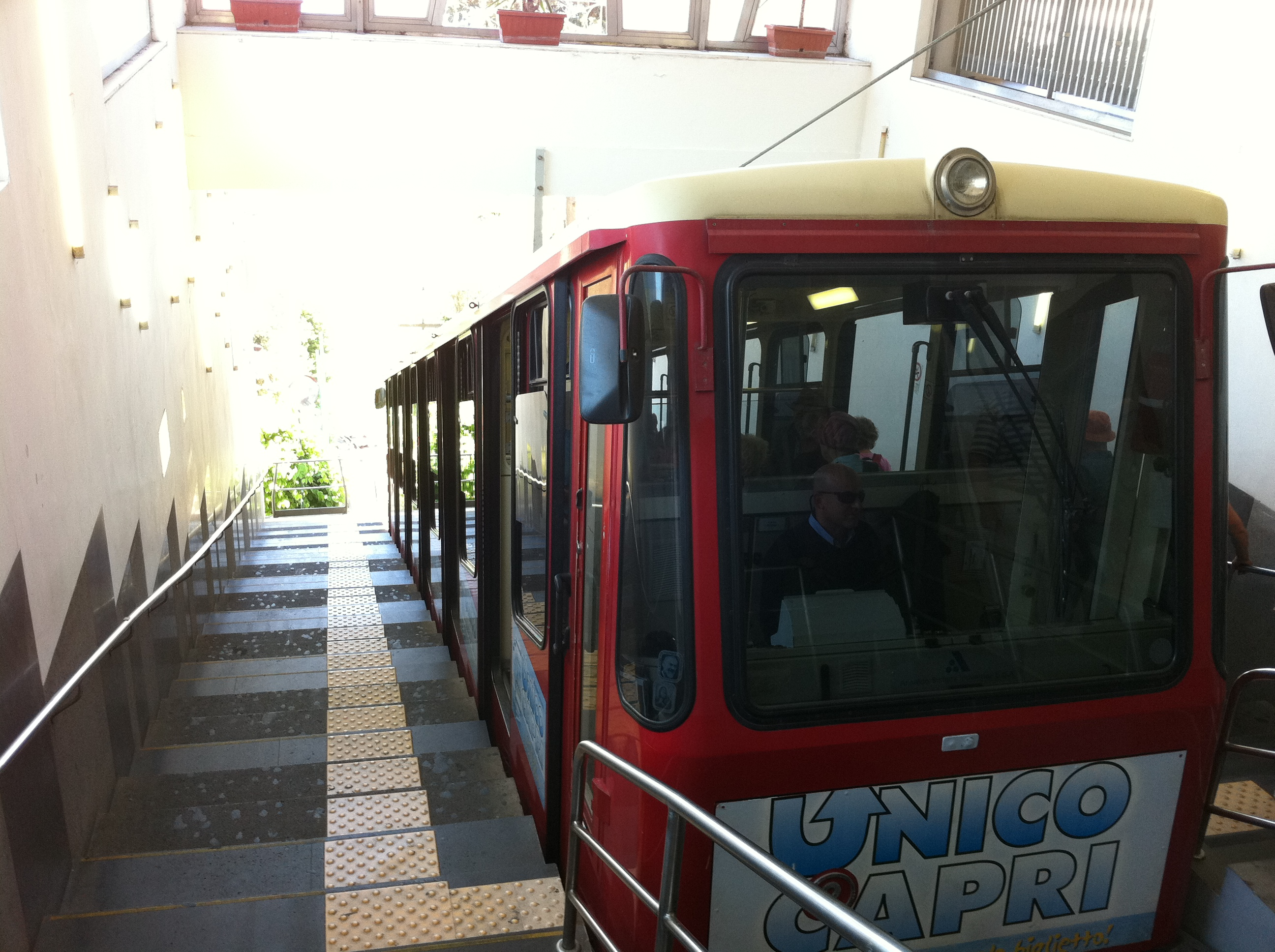 Funicular Railway on Capri
