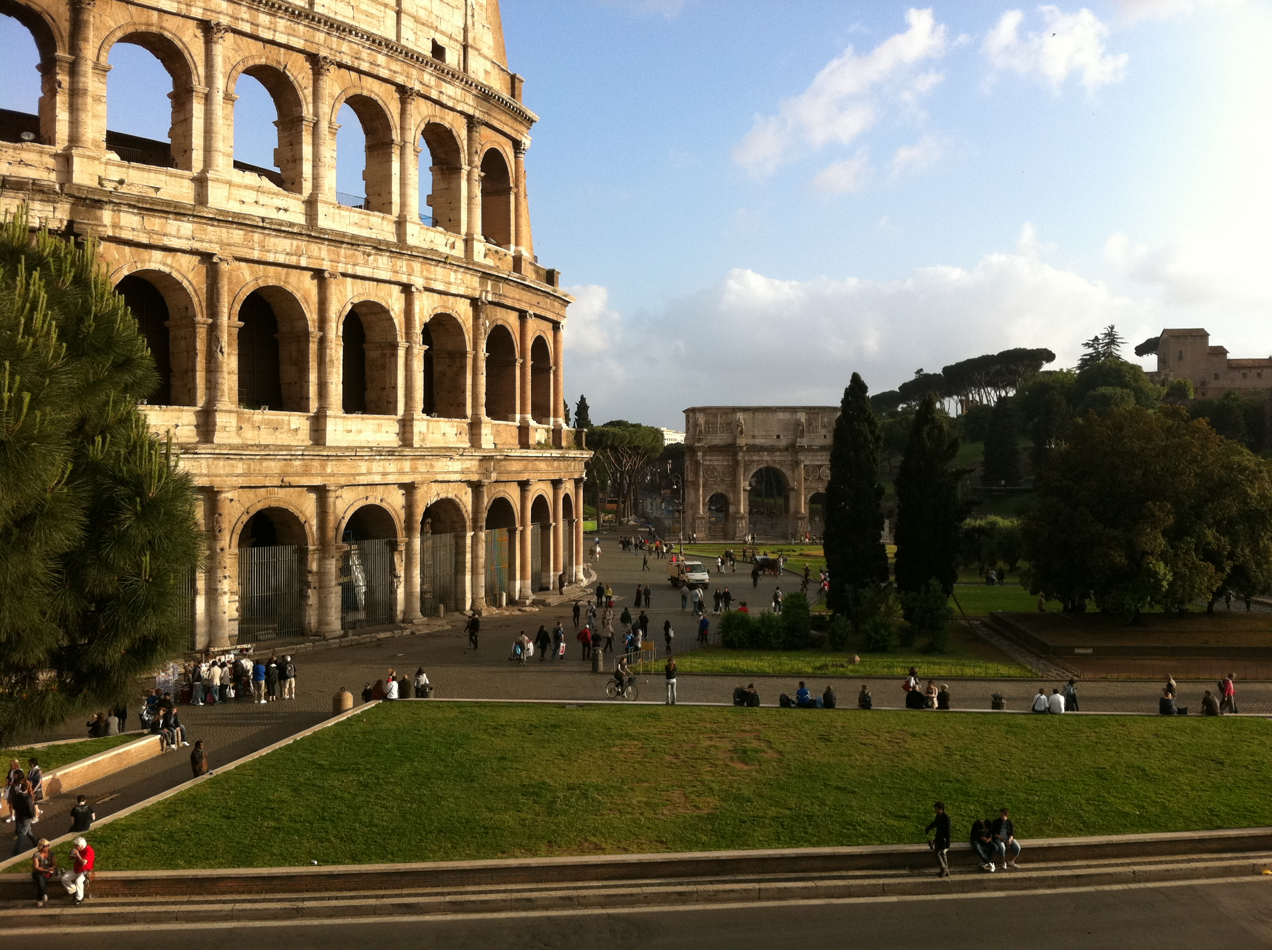 First views of the Coloseum