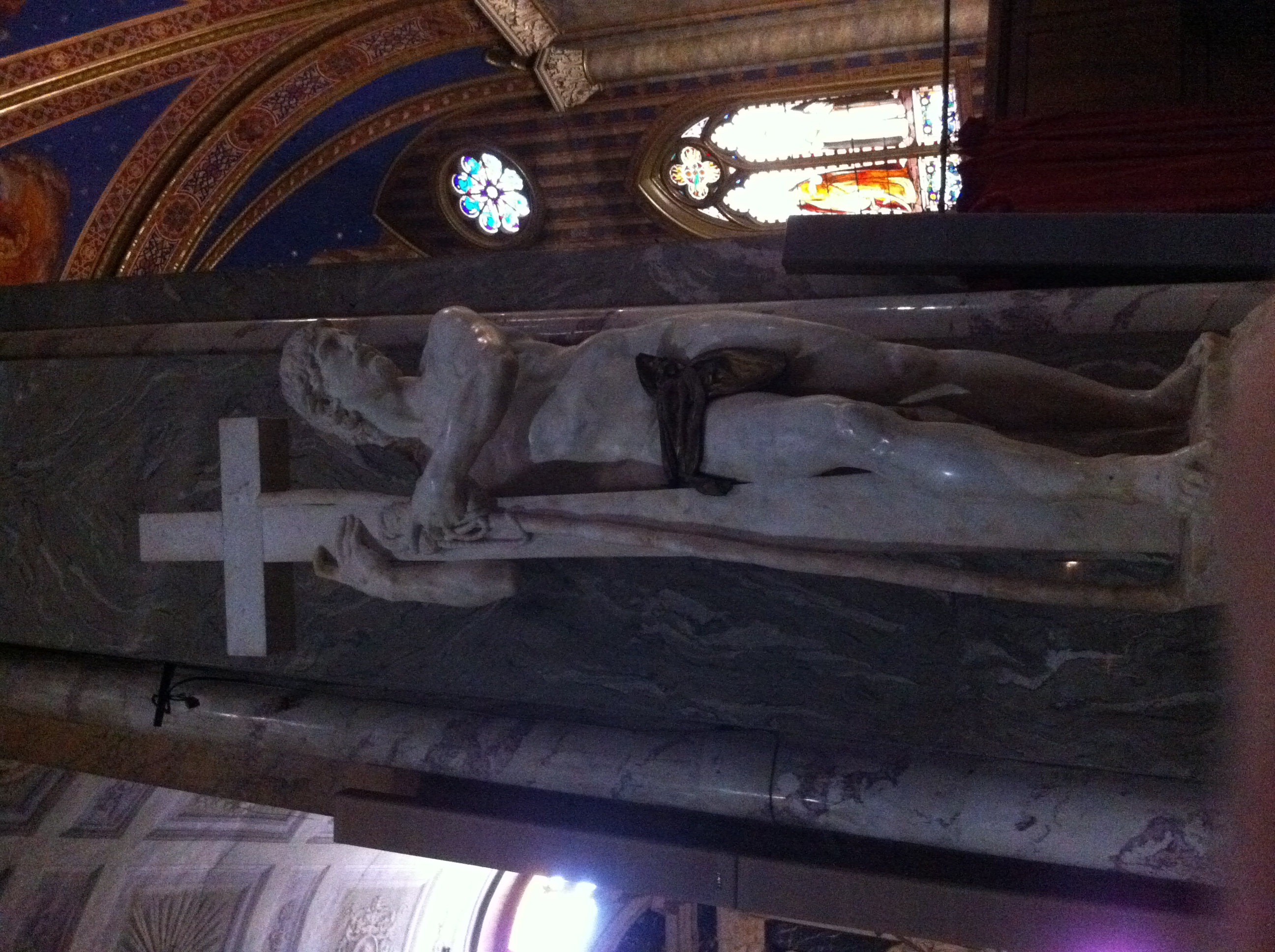 Christ Bearing the Cross at Santa Maria Sopra Minerva