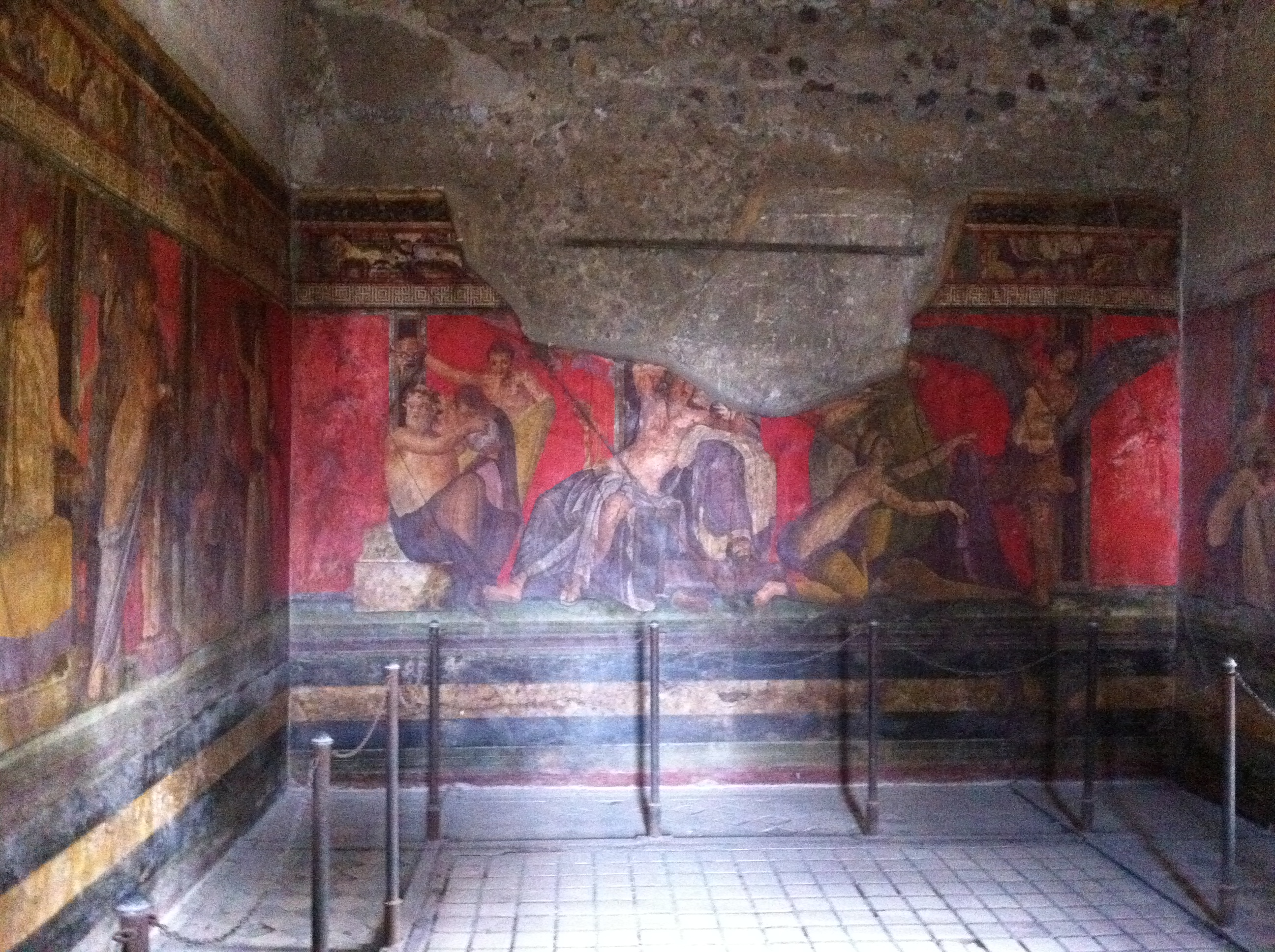 Villa of the Mysteries, Pompeii