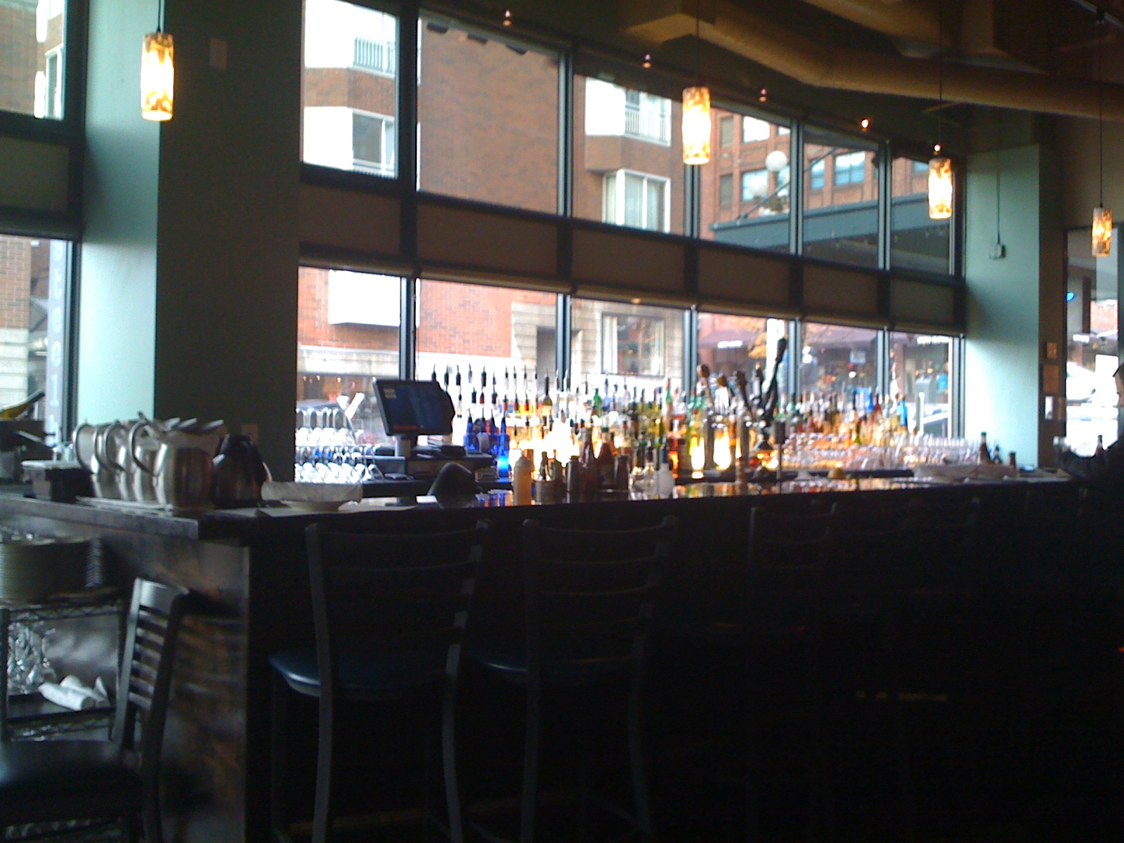 bar at steelheaddiner